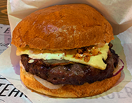 Изображение для: Бургер с беконом